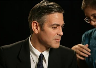 Youth Ambassadors: George Clooney and Don Cheadle