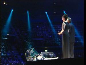 2003 Nobel Concert: Michael Douglas and Catherine Zeta-Jones