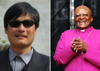 Tutu, Chen Guangcheng and China
