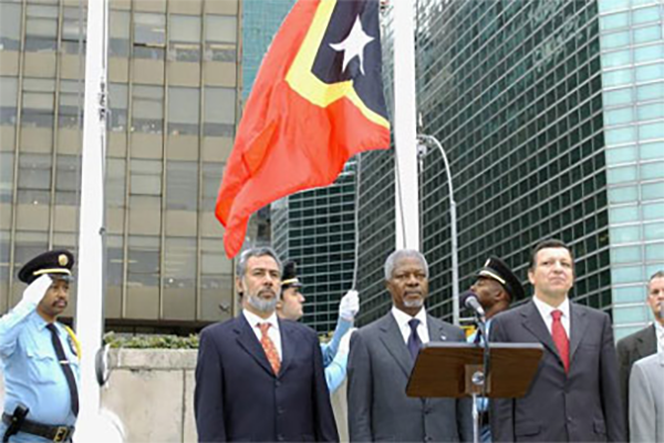 East Timor becomes newest member nation of UN