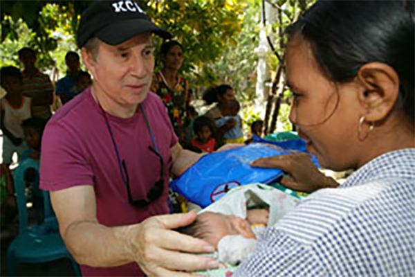 Paul Simon in East Timor