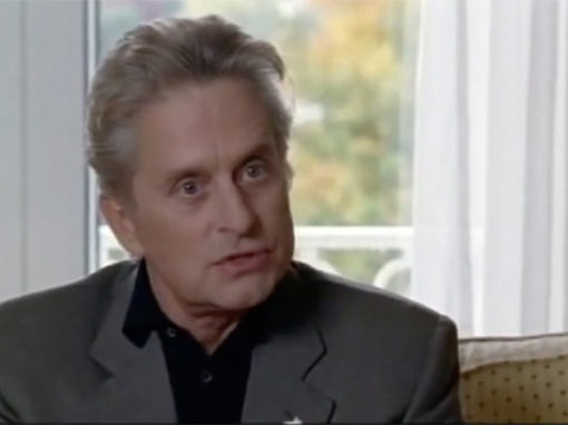 Michael Douglas: What's so hard about Peace?