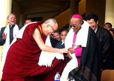 Tutu to China: Stop abusing the Dalai Lama