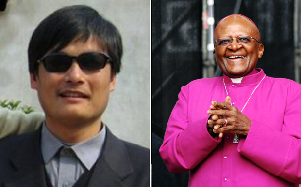 Tutu, Chen Guangcheng and China
