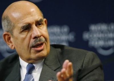 Mohamed ElBaradei joins human rights campaign