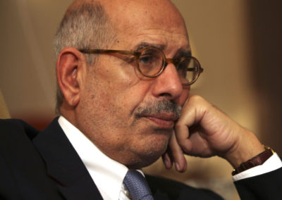 Huffington Post: El Baradei, The Opportunity